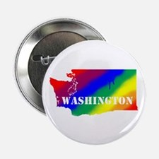 """Rainbow Gay Pride 2.25"""" Button (100 Pack)"""