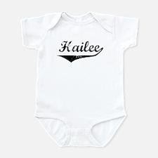 Hailee Vintage (Black) Infant Bodysuit