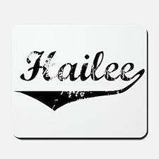 Hailee Vintage (Black) Mousepad