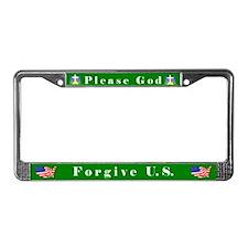 Please God #2 License Plate Frame