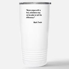 Mark twain quotes Travel Mug