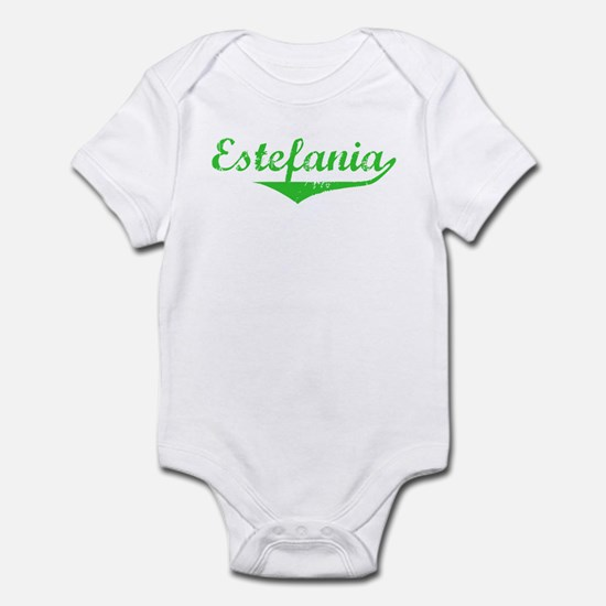 Estefania Vintage (Green) Infant Bodysuit