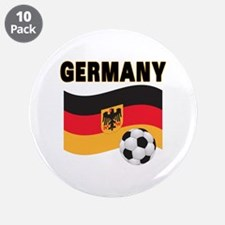 """Germany 3.5"""" Button (10 pack)"""