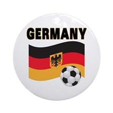 Germany Ornament (Round)