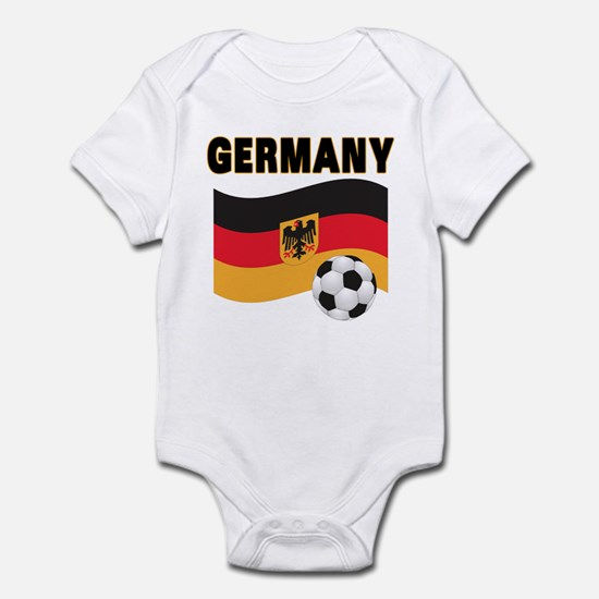 Soccer baby clothes cafepress germany infant bodysuit negle Images