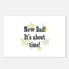 New Dad! It's about time! Postcards (Package of 8)
