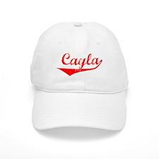 Cayla Vintage (Red) Baseball Cap