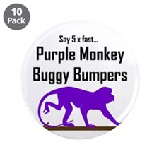 "Pmbuggybumpers5x 3.5"" Button (10 pack)"