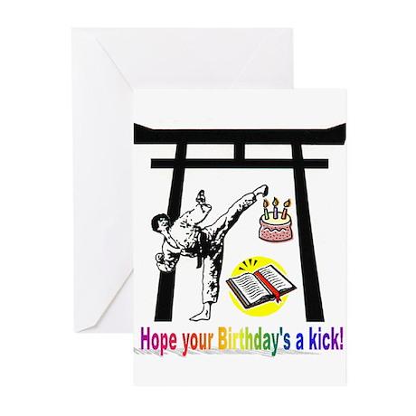 Birthday Kick Greeting Cards (Pk of 10)