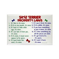 Skye Terrier Property Laws 2 Rectangle Magnet (100