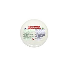 Skye Terrier Property Laws 2 Mini Button (10 pack)