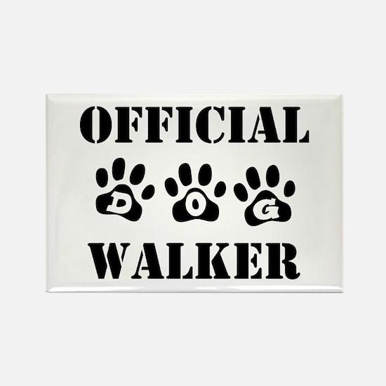 Official Walker Rectangle Magnet