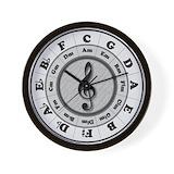 Circle of fifths Wall Clocks