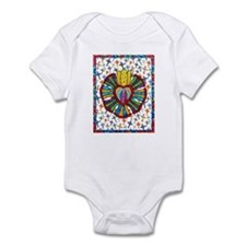 Guadalupe Red Milagro Infant Bodysuit