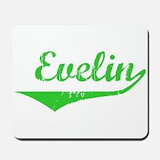 Evelin Vintage (Green) Mousepad