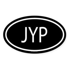 JYP Oval Decal