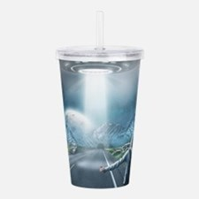 Catching a Ride Acrylic Double-wall Tumbler