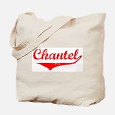 Chantel Vintage (Red) Tote Bag