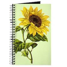 Vintage Sunflower Journal