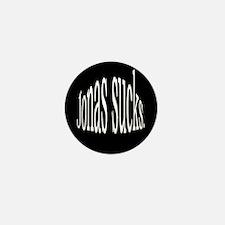 Jonas sucks. Mini Button