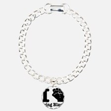 I love being black Charm Bracelet, One Charm