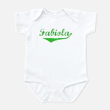 Fabiola Vintage (Green) Infant Bodysuit