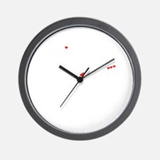 Cute Isaias Wall Clock