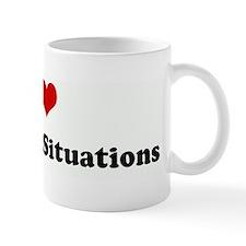 I Love Awkward Situations Mug