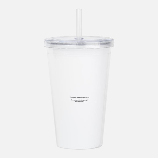 Speech pathology Acrylic Double-wall Tumbler