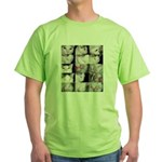 The many faces of LabRat Green T-Shirt