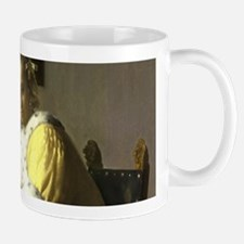 A Lady Writing by Johannes Vermeer Mugs