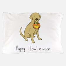 Happy Howl-o-ween - Halloween Dog Pillow Case