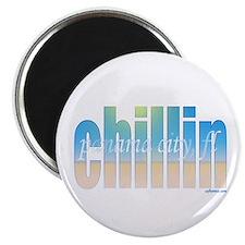 """Unique Chillin 2.25"""" Magnet (10 pack)"""