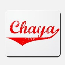 Chaya Vintage (Red) Mousepad