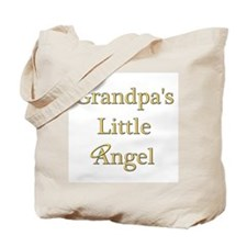 Grandpa's Angel Tote Bag