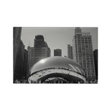 Bean, Chicago Rectangle Magnet