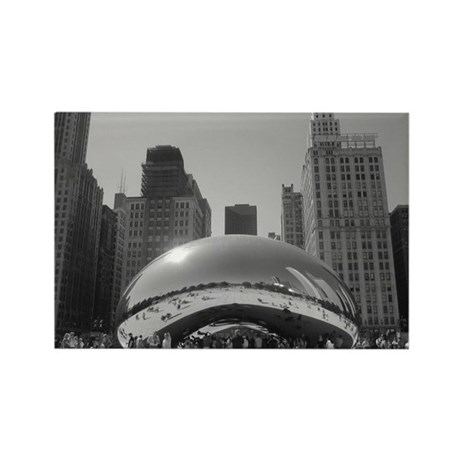 Bean, Chicago Rectangle Magnet