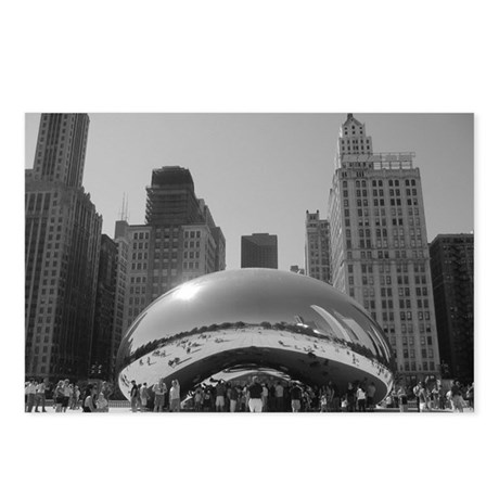 Bean, Chicago Postcards (Package of 8)