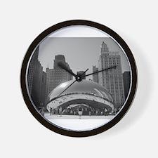 Bean, Chicago Wall Clock