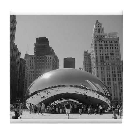 Bean, Chicago Tile Coaster