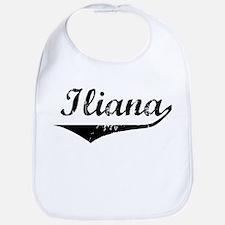 Iliana Vintage (Black) Bib