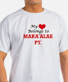 My Heart Belongs to Maka'Alae Pt. Hawaii T-Shirt