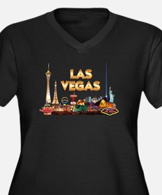 Ultimate Vegas Skyline Plus Size T-Shirt