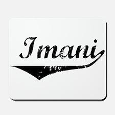 Imani Vintage (Black) Mousepad