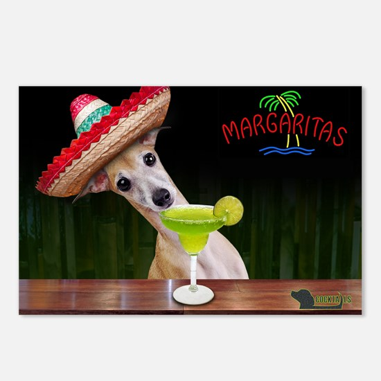 Cute Margarita Postcards (Package of 8)