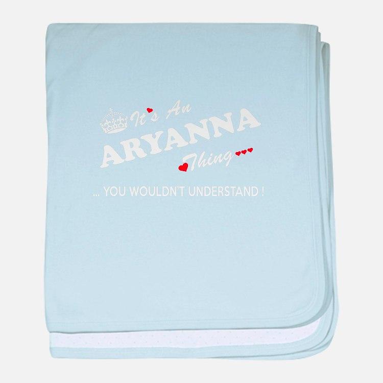 Cute Aryanna baby blanket