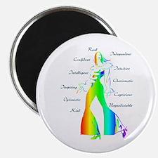 Essence of Woman - Rainbow Magnet