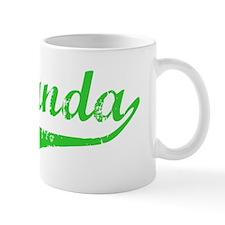 Fernanda Vintage (Green) Coffee Mug
