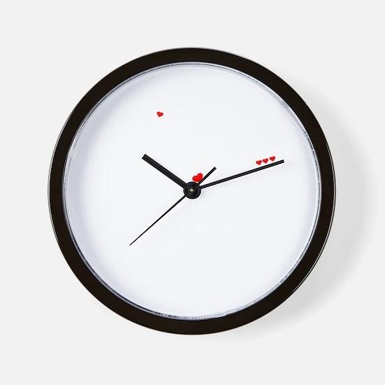 Unique Emmalee Wall Clock