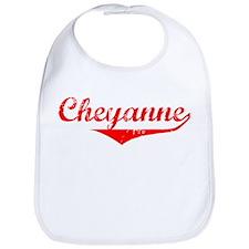 Cheyanne Vintage (Red) Bib